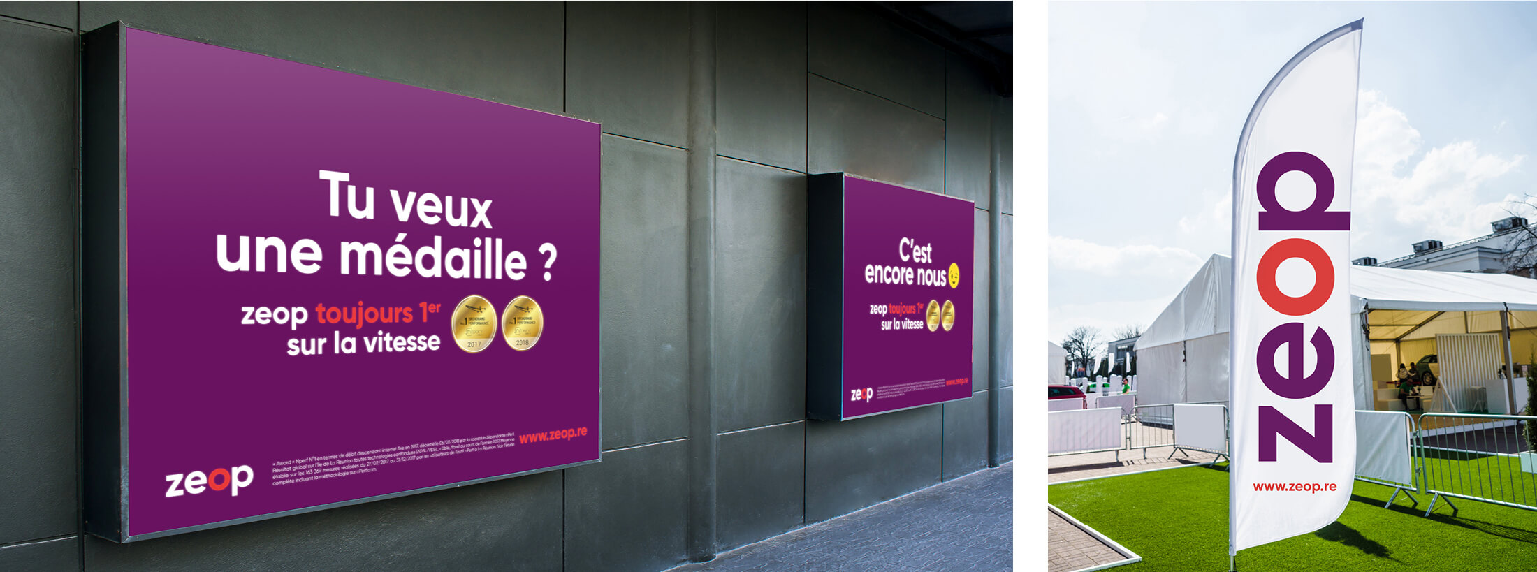 Campagne institutionnelle - Agence de pub Zoorit