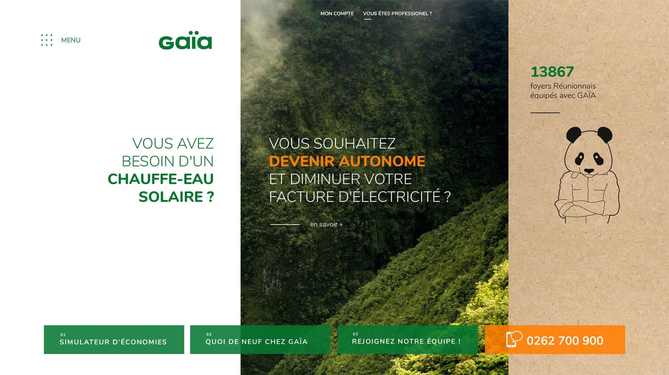 Site internet webdesign - La Réunion