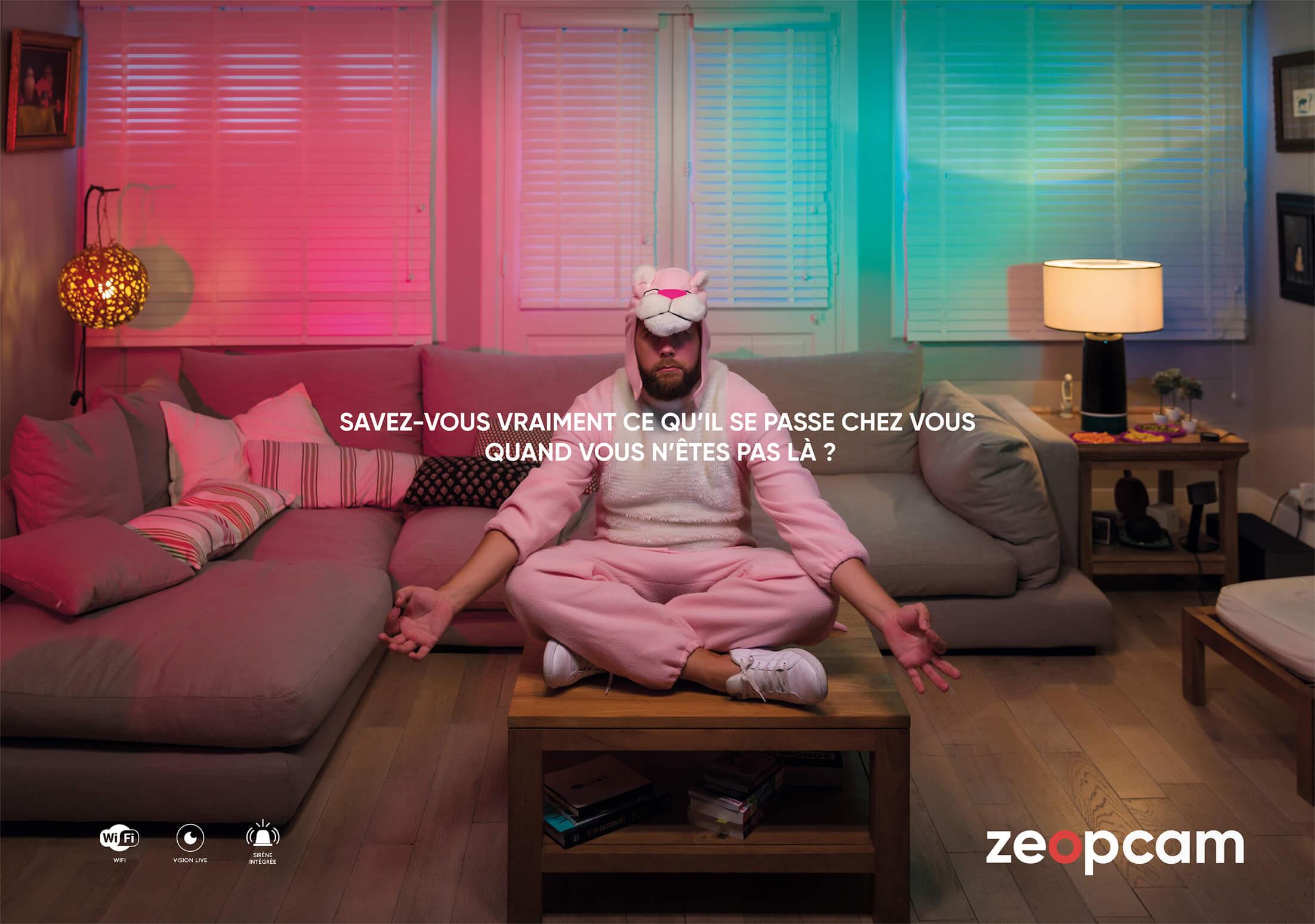 Publicité zeopcam ile de la Réunion
